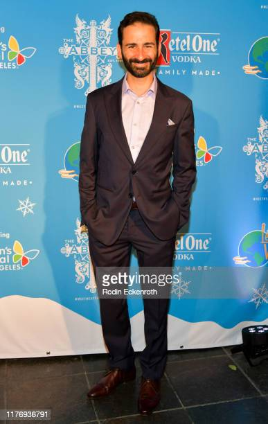 Erik Liberman attends the Children's Hospital of Los Angeles Christmas In September Toy Drive at The Abbey on September 24 2019 in West Hollywood...