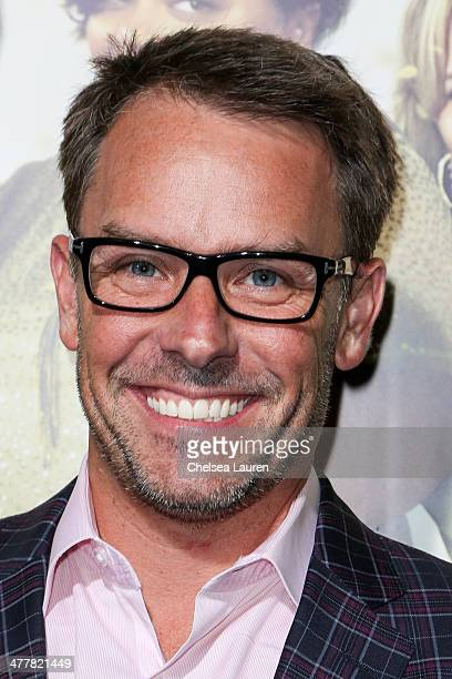 Erik Logan of OWN Networks attends the premiere Of Tyler Perry's 'The Single Moms Club' at ArcLight Cinemas Cinerama Dome on March 10 2014 in...