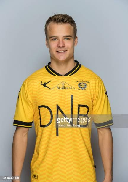 Erik Naesbak Brenden of Team Lillestrom Sportsklubb LSK during Photocall on March 17 2017 in Lillestrom Norway