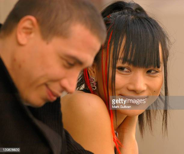 Erik Palladino and Bai Ling during Gridlock New Years Eve Party Promotional Photo Shoot at Paramount Pictures New York City Backlot in Hollywood...