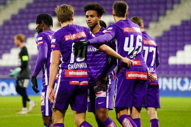 AUT: FK Austria Wien v TSV Prolactal Hartberg - Uniqa OeFB Cup