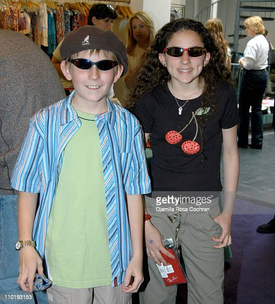 Erik Per Sullivan and Hallie Kate Eisenberg during RAY BAN at the 11th Annual Kids for Kids Celebrity Carnival to Benefit the Elizabeth Glaser...