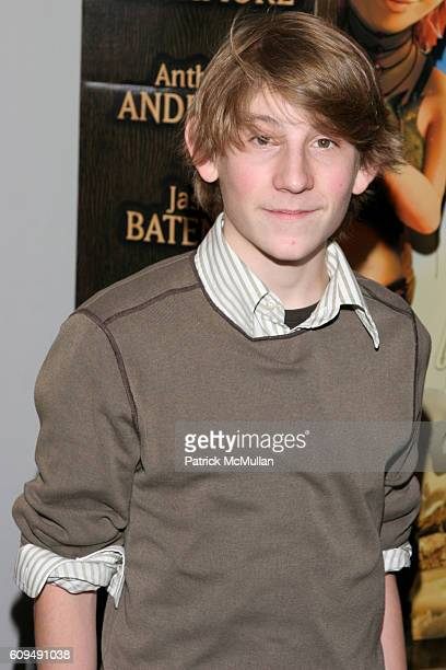 Erik Per Sullivan attends Arthur and the Invisibles New York City Premiere at Directors Guild of America Theater on January 7 2007