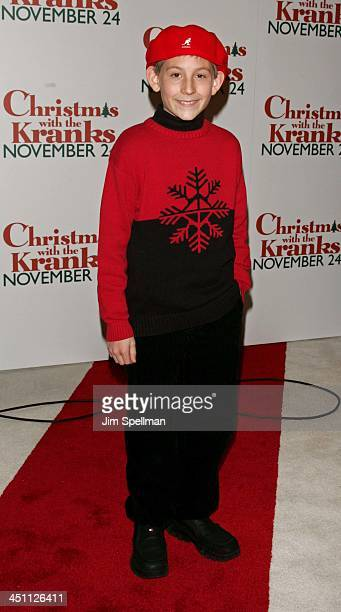 Erik Per Sullivan during Christmas with The Kranks New York City Premiere Outside Arrivals at Radio City Music Hall in New York City New York United...
