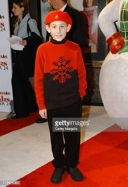 Erik Per Sullivan during Christmas with the Kranks New York Premiere at Radio City Music Hall in New York City New York United States