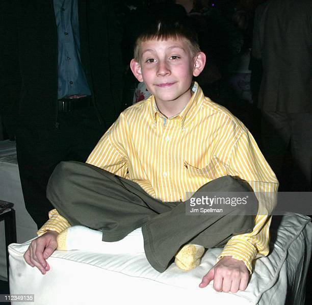 Erik Per Sullivan during Fox Television 20022003 Upfront Party at Pier 88 in New York City New York United States