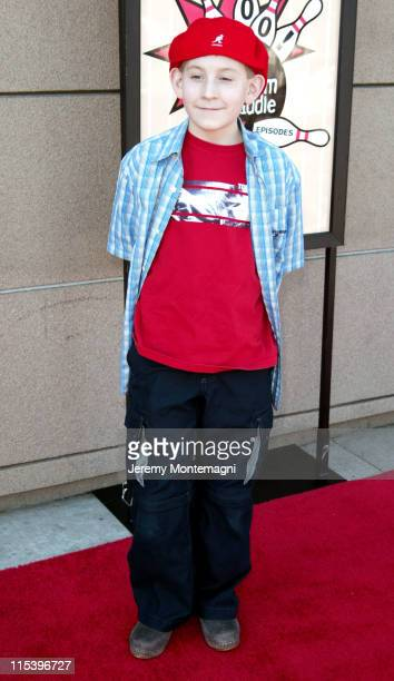 Erik Per Sullivan during Malcolm in the Middle 100th episode celebration party at Lucky Strike Lanes in Hollywood CA United States