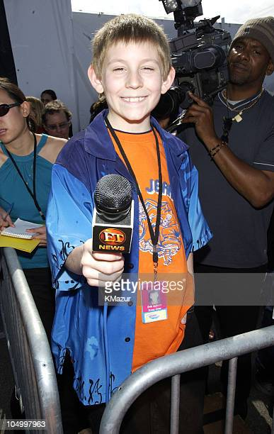 Erik Per Sullivan during Nickelodeon's 15th Annual Kids Choice Awards Arrivals at Barker Hanger in Santa Monica California United States