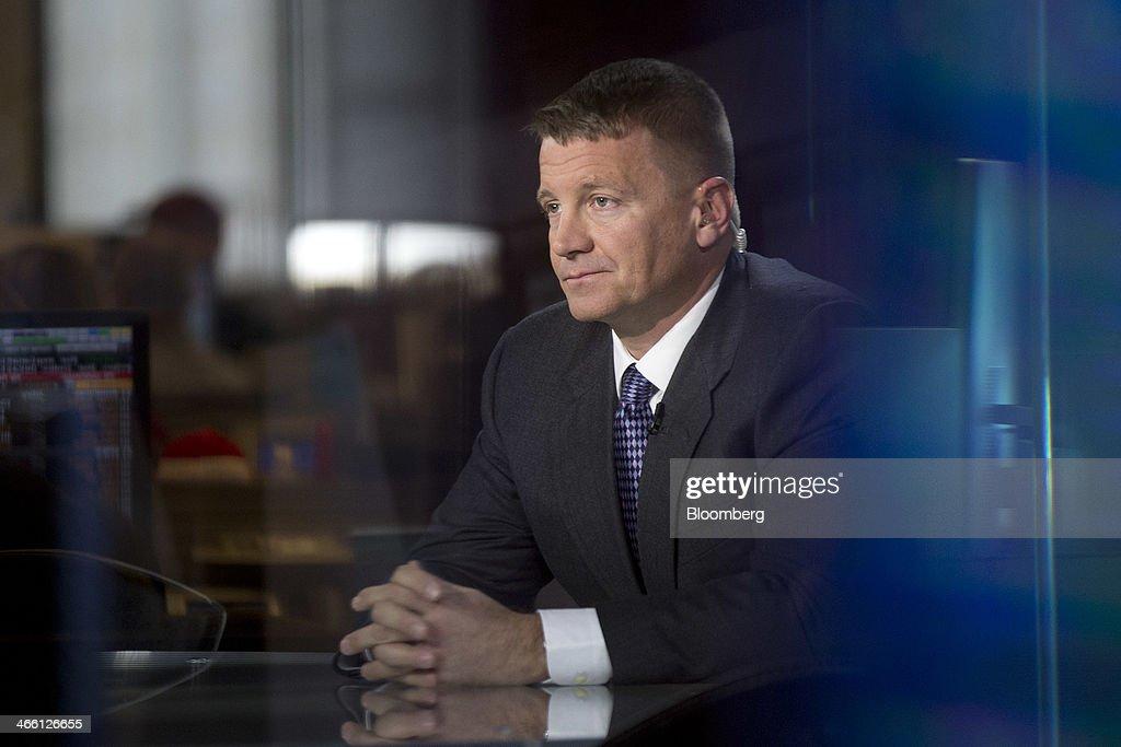 Blackwater Founder & XE Worldwide Chairman Erik Prince Interview : News Photo