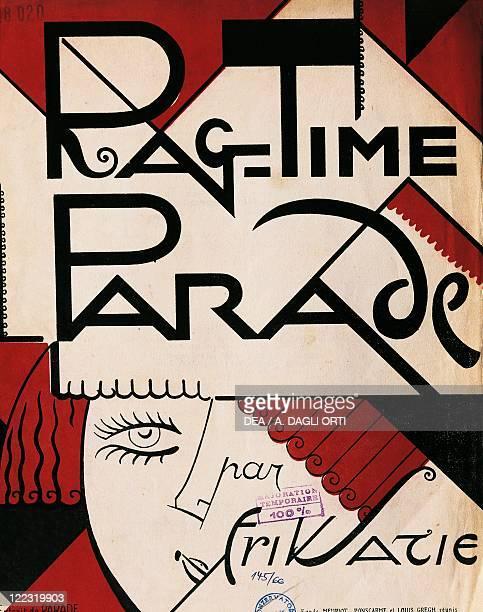 Erik Satie Ragtime Parade Frontispiece