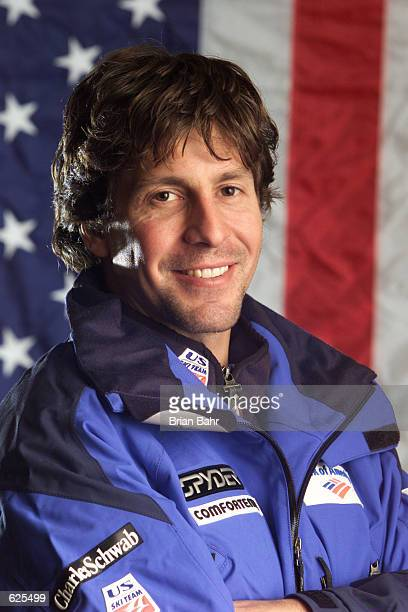 Erik Schlopy of the USA ski team poses for a portrait during the USSA Media Day in Beaver Creek Colorado DIGITAL IMAGE Mandatory Credit Brian...