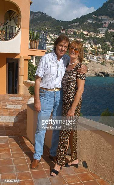 Erik Silvester, Ehefrau Marlene Silvester, Urlaub, Homestory, Cala Llamp/Mallorca/Balearen/Spanien, , Ferienhaus, Mittelmeer, Sänger, Frau, Familie,...