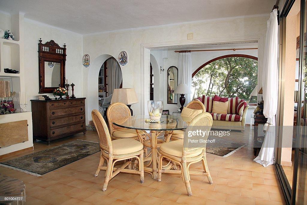 Wohnzimmer Esstisch erik silvester exklusiv homestory ferienhaus andratx mallorca