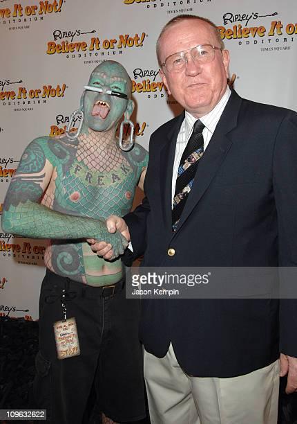 Erik Sprague The Lizardman and Bob Masterson Ripley's President