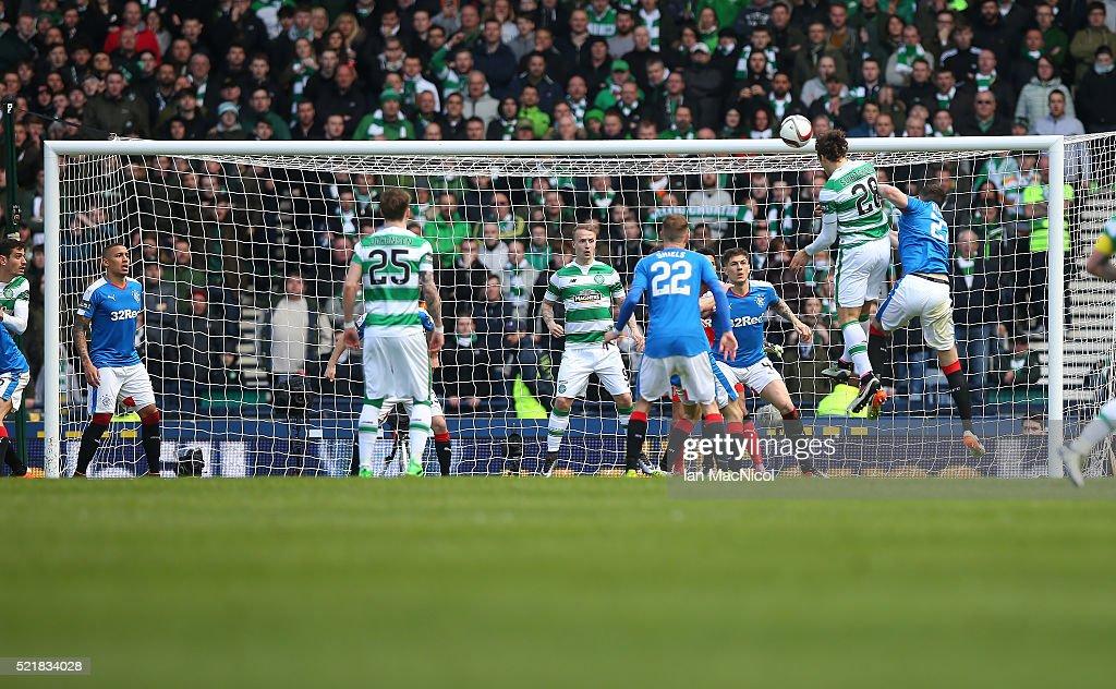 Rangers v Celtic - William Hill Scottish Cup Semi Final : ニュース写真