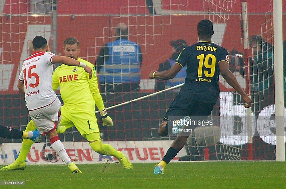 Fortuna Duesseldorf v 1. FC Koeln - Bundesliga : News Photo