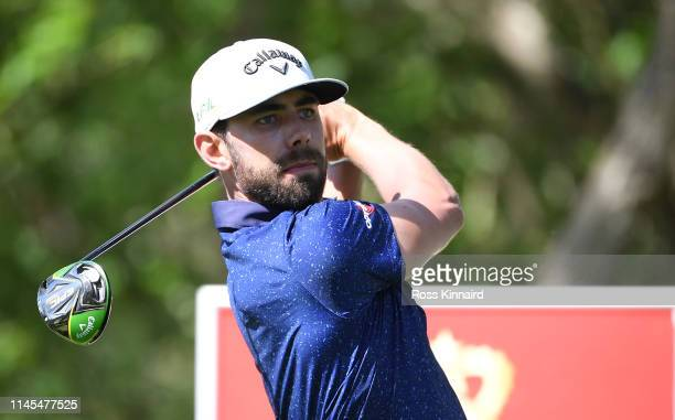 Erik Van Rooyen of South Africa on the 18th tee during the third round of the Trophee Hassan II at Royal Golf Dar EsSalam on April 27 2019 in Rabat...