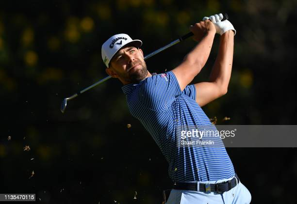 Erik Van Rooyen of South Africa plays a shot during the pro -am prior to the start of the Magical Kenya Open presented by Absa at the Karen Golf Club...