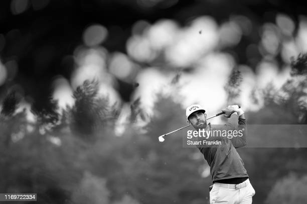 Erik van Rooyen of South Africa plays a shot on the 6th hole during Day Two of the Scandinavian Invitation at The Hills and Sports Club on August 23,...