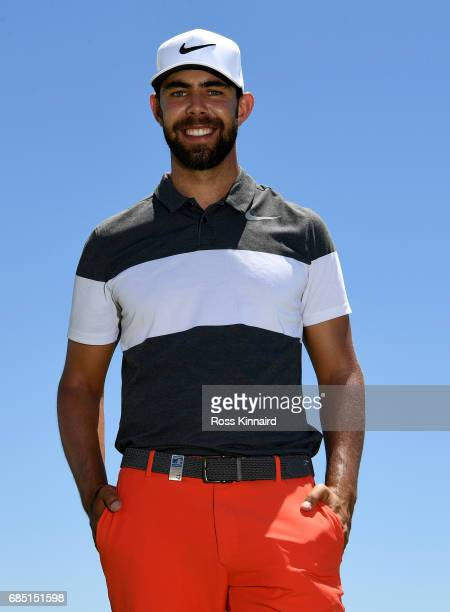 Erik Van Rooyen of South Africa poses for a portrait during the first round of Andalucia Costa del Sol Match Play at La Cala Resort on May 18 2017 in...