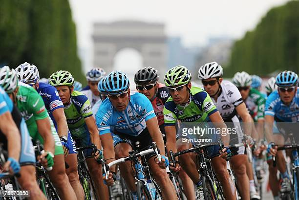 Erik Zabel of Germany and Milram on the Champs-Elysee during Stage Twenty of the Tour de France on July 29, 2007 in Paris, France.