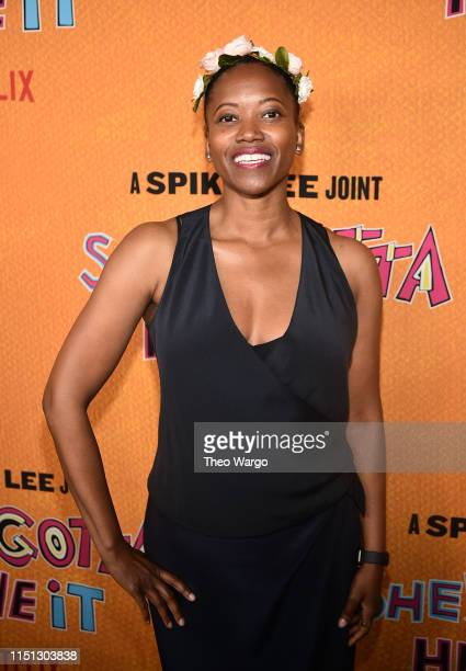 Erika Alexander attends the She's Gotta Have It Season 2 Premiere at Alamo Drafthouse on May 23 2019 in Brooklyn New York