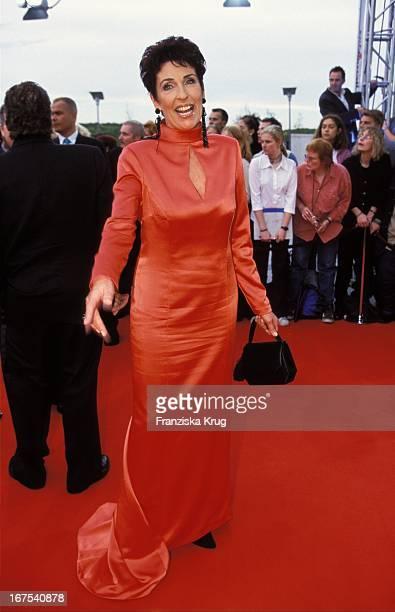 Erika Berger Bei Der Verleihung Des Deutscher FernsehPreis In Köln