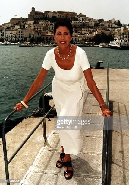 Erika Berger Ibiza 1997 Hafen SpanienRTL Show Heimliche Lust auf Ekstase