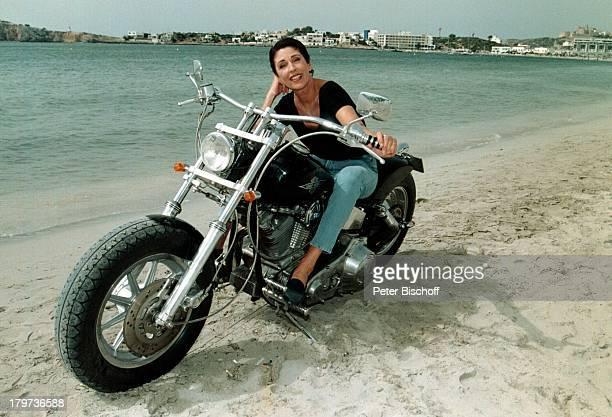 Erika Berger Ibiza 1997 UrlaubMotorrad Strand Spanien IbizaRTLShow Heimliche Lust auf Ekstase