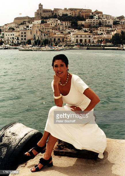Erika Berger Ibiza 1997 YachtHafenSpanien RTLShow Heimliche Lust aufEkstase