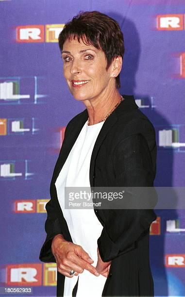 Erika Berger RTLPressekonferenzTelemesse Düsseldorf RTLStand