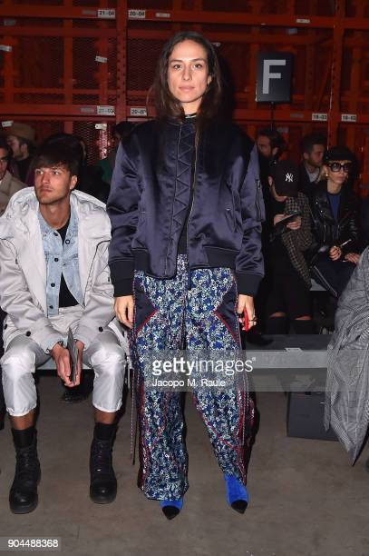 Erika Boldrin attends the Diesel Black Gold show during Milan Men's Fashion Week Fall/Winter 2018/19 on January 13 2018 in Milan Italy