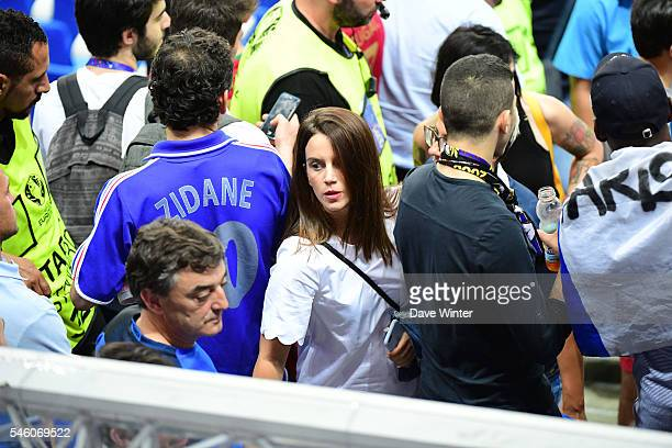Erika Choperen during the European Championship Final between Portugal and France at Stade de France on July 10 2016 in Paris France