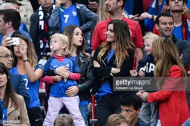Erika Choperena during the UEFA Euro 2016 Quarter Final between France and Iceland at Stade de France on July 3 2016 in Paris France