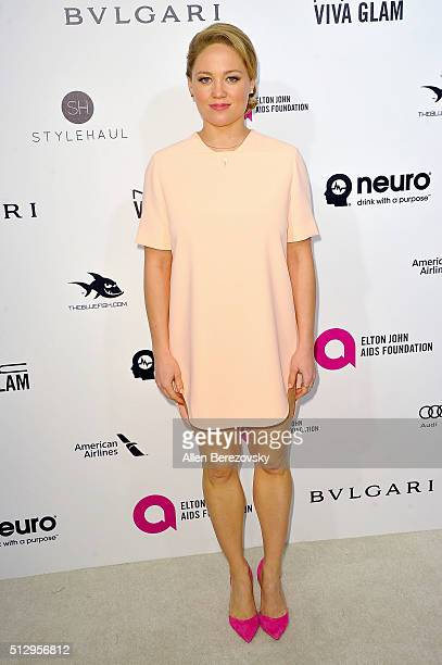 Erika Christensen arrives at the 24th Annual Elton John AIDS Foundation's Oscar Viewing Party on February 28 2016 in West Hollywood California