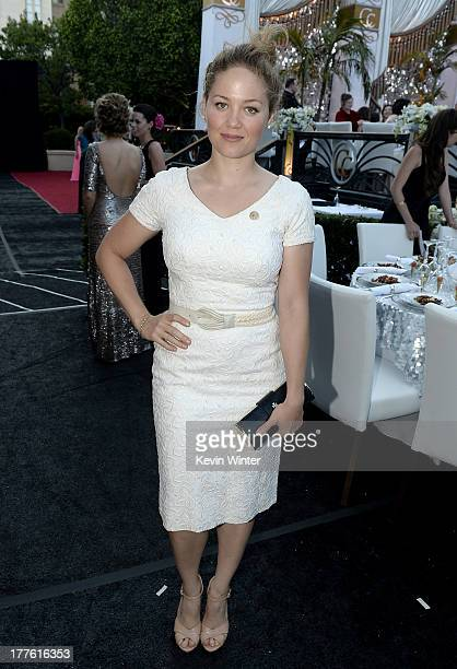 Erika Christensen attends the Church of Scientology Celebrity Centre 44th Anniversary Gala on August 24 2013 in Los Angeles California