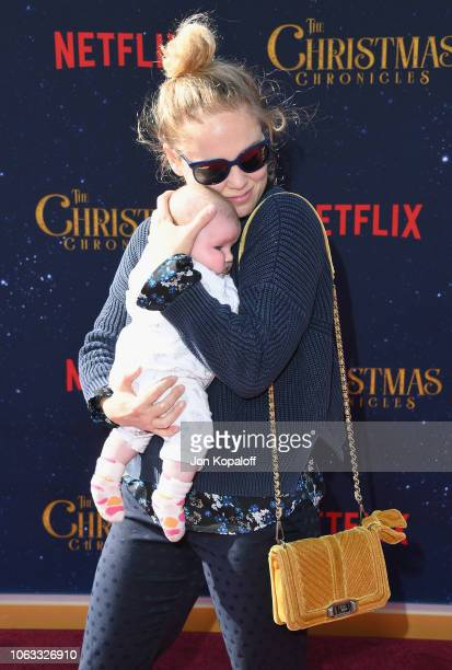 Erika Christensen attends the premiere of Netflix's The Christmas Chronicles at Fox Bruin Theater on November 18 2018 in Los Angeles California