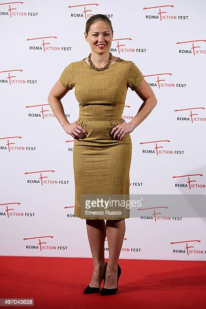 Erika Christensen attends the 'Wicked City' red carpet at Cinema Adriano on November 13 2015 in Rome Italy