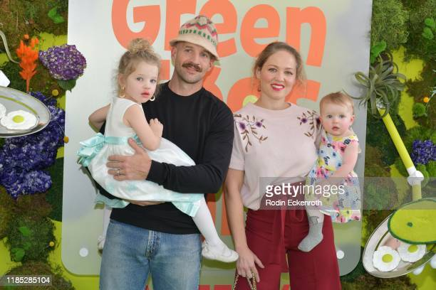 Erika Christensen Cole Maness and their children attend the premiere of Netflix's Green Eggs And Ham at Hollywood American Legion on November 03 2019...