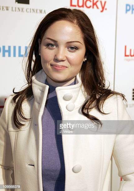 Erika Christensen during 2005 Park City 'Upside of Anger' Dinner and After Party hosted by Lucky Magazine at Village at the Lift in Park City Utah...