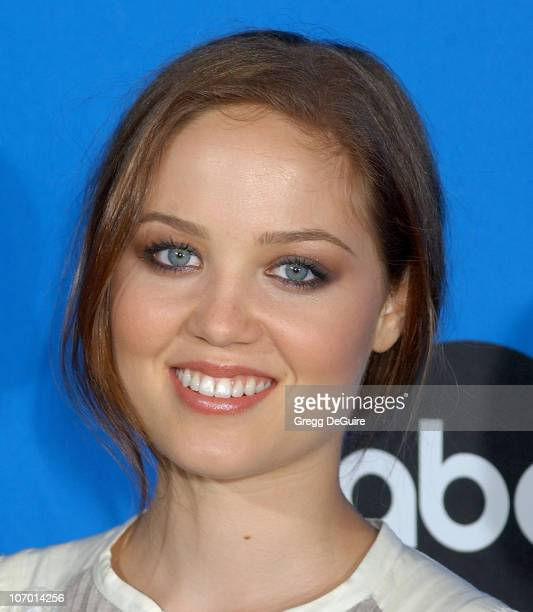 Erika Christensen during ABC All Star Party 2006 Arrivals at Rose Bowl in Pasadena California United States