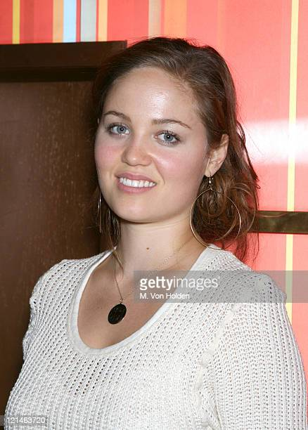 Erika Christensen during Satine 'Celebrate the Love' Cocktail Party Hosted by Kim Gordon at Marquee in New York City New York United States