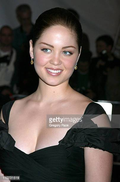 Erika Christensen during The Costume Institute's Gala Celebrating 'Chanel' Arrivals at The Metropolitan Museum of Art in New York City New York...