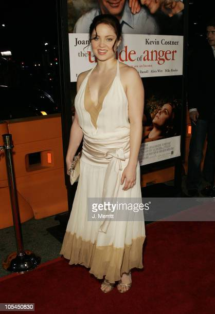 Erika Christensen during 'The Upside of Anger' Los Angeles Premiere Arrivals at The Mann's National Theatre in Westwood California United States