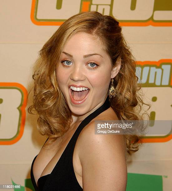 Erika Christensen during VH1 Big In '03 Arrivals at Universal Amphitheater in Universal City California United States