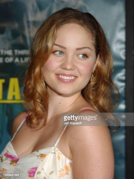Erika Christensen during 'Without A Paddle' Los Angeles Premiere Arrivals at Paramount Pictures in Los Angeles California United States
