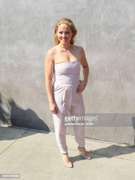 Erika Christensen is seen on September 16 2017 in Los Angeles California