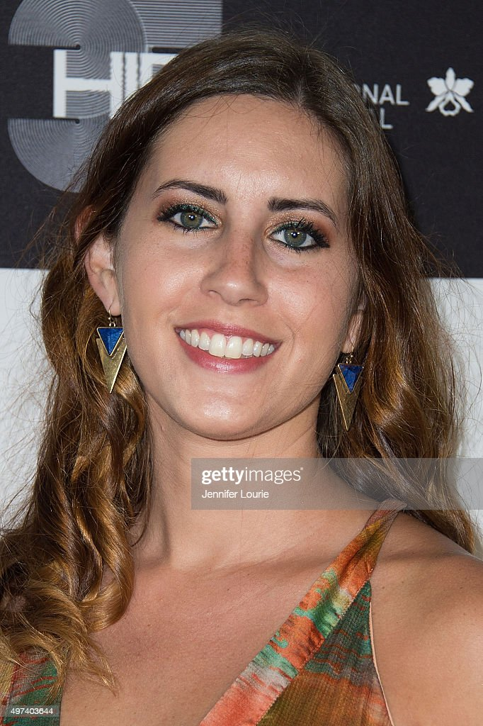 Erika Cohn arrives at the 2015 Hawaii International Film Festival Awards Gala on November 15, 2015 in Honolulu, Hawaii.