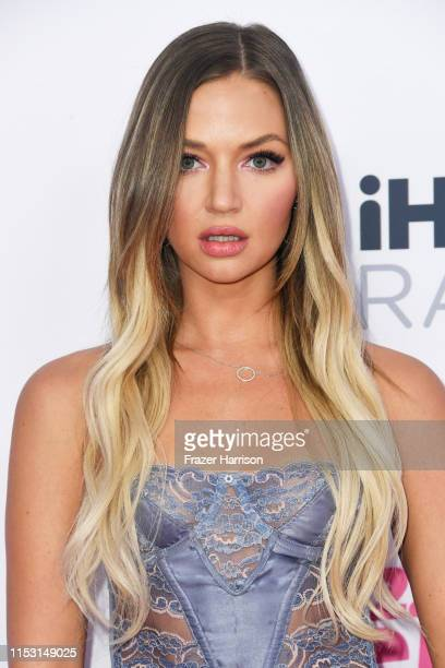 Erika Costell attends 2019 iHeartRadio Wango Tango presented by The JUVÉDERM® Collection of Dermal Fillers at The Dignity Health Sports Park on June...
