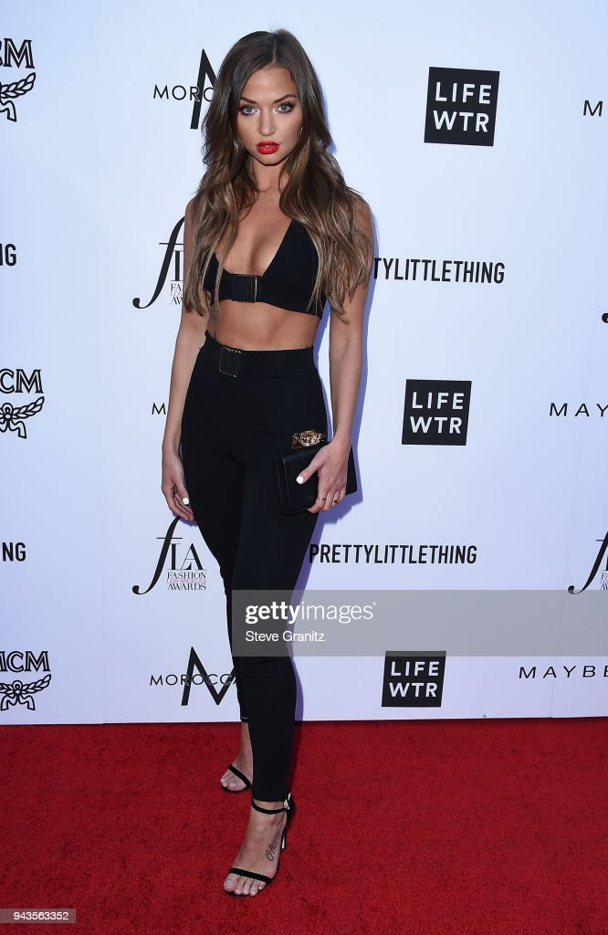 Erika Costell attends The Daily Front Row's 4th Annual Fashion Los Angeles Awards at Beverly Hills Hotel on April 8, 2018 in Beverly Hills, California.